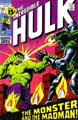 Incredible Hulk #144, Dr Doom