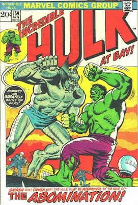Incredible Hulk #159, the Abomination