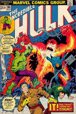 Incredible Hulk #166, Zzzax and Hawkeye