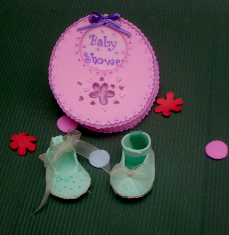 Tarjetas De Invitación Para Baby Shower En Foami Imagui