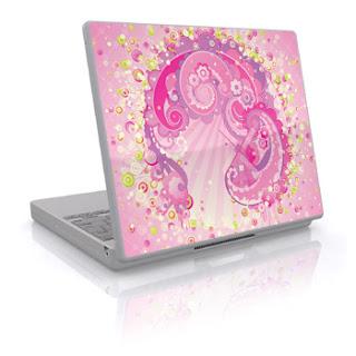 Laptop World City Pink Apple Macintosh Laptop