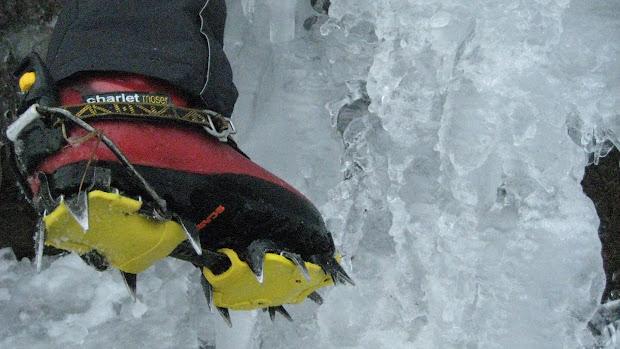 Ice-Climbing Crampons