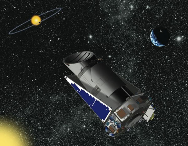 Hunt for Alien Earths: Kepler Spacecraft