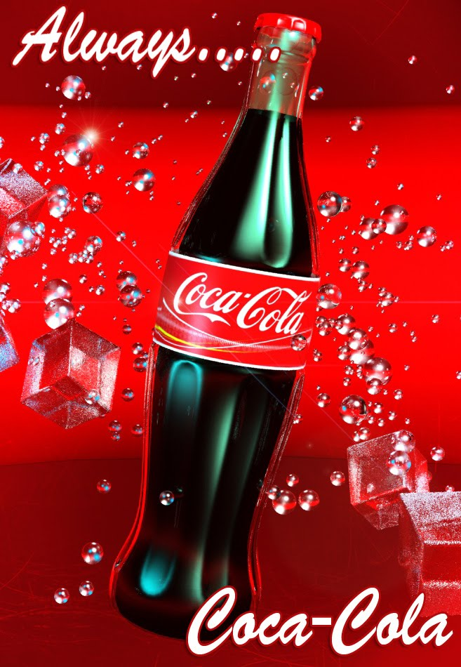 John Green's Art blog: Coca-Cola for the win