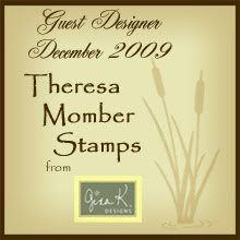I'm proud to be Theresa Momber's guest designer for Life is Good!