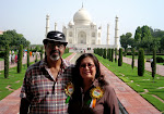 At The Taj Mahal