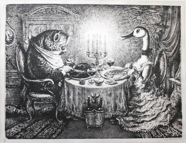 Wildes Festmahl