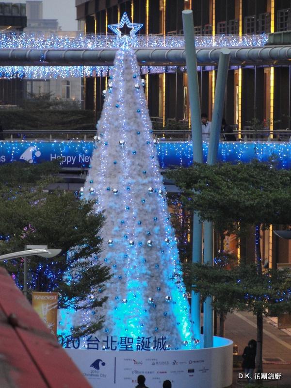 花團錦廚: 臺北的聖誕街景
