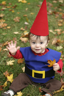 Baby Gnome Costume Tutorial for Halloween