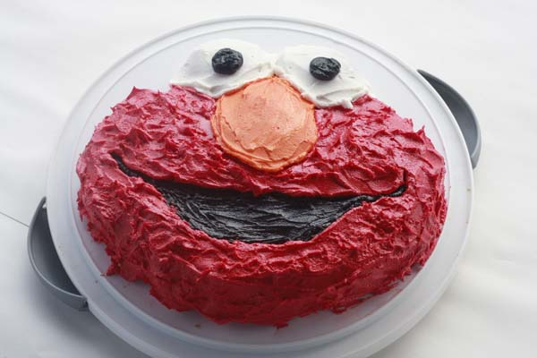 Eliass Elmo Birthday Party
