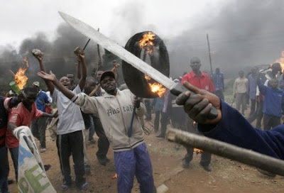 Murderous odinga supporters