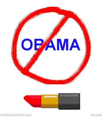 Lipstick says no Obama