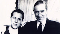 Brooks with Lugosi