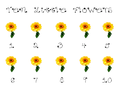 Counting Time: Flowers