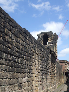 Newcastle Town Walls - Back of Stowell Street