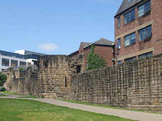 Newcastle Town Walls - Bath Lane