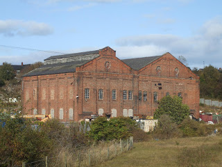 Remains of Lemington Power Station