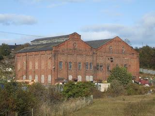Remains of Lemington Power Station