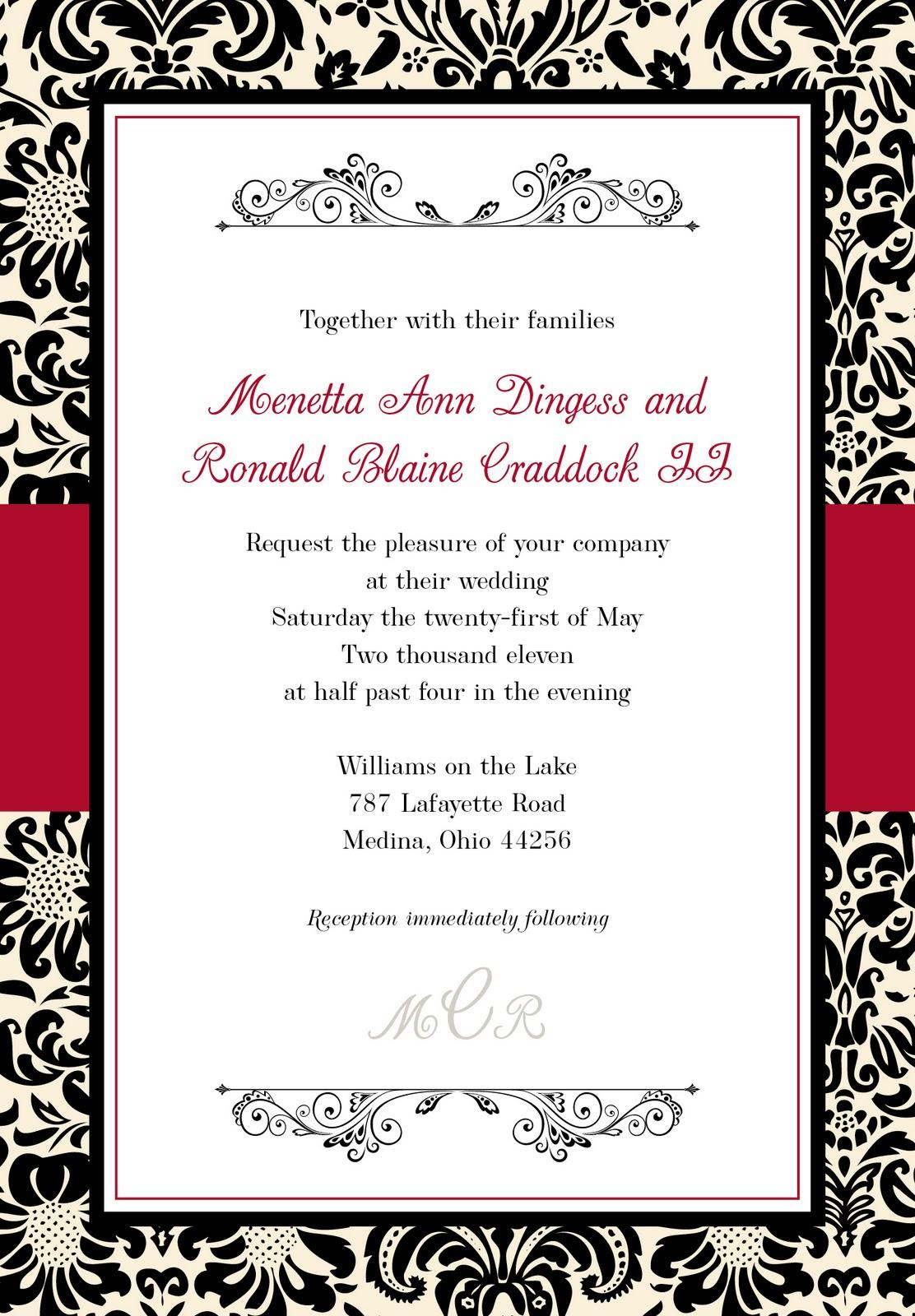 Wedding Invitation Kits Walmart was perfect invitations design