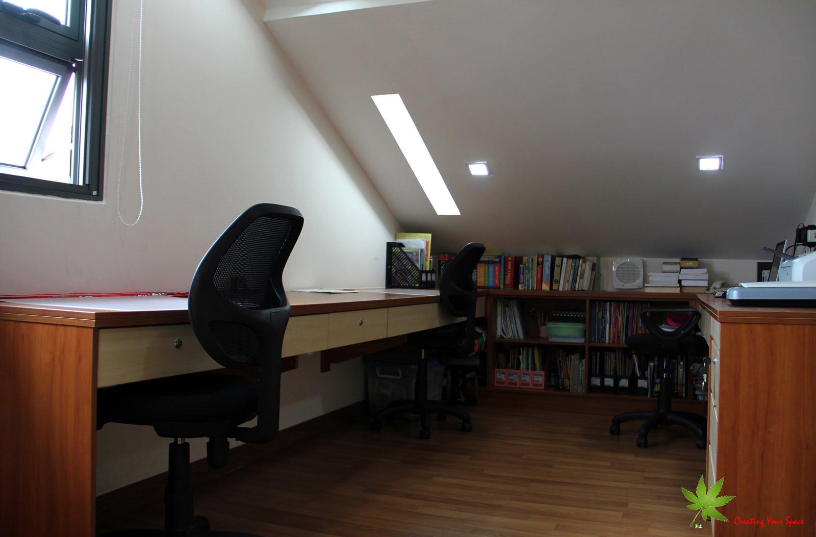 Attic Conversion New Study Room In Attic