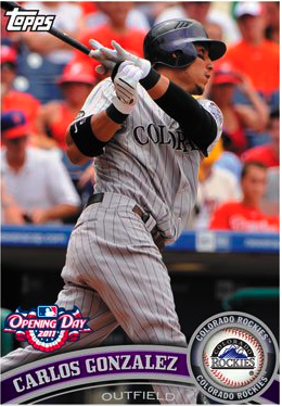 All About Sports Cards First Look At Topps 2011 Opening Day