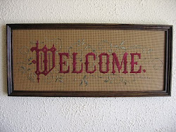 Welcome all who enter