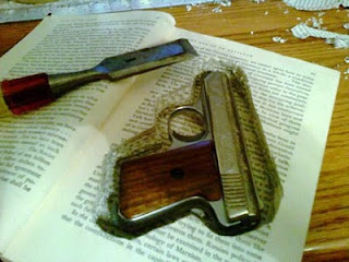 Thoughts On Guns: How To Hide A Gun In A Book
