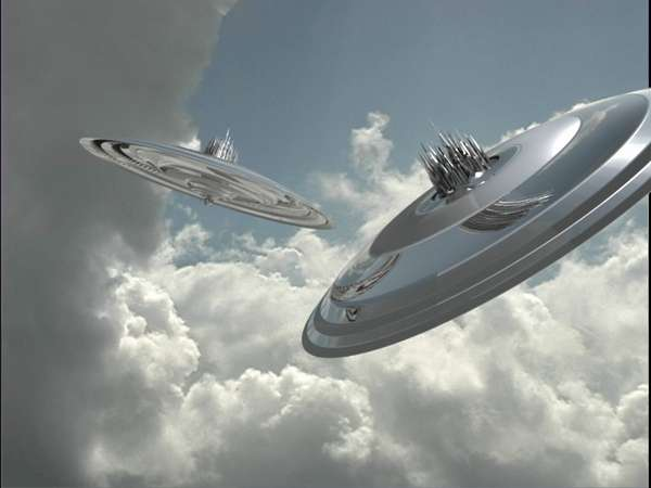 beware it s a cyber world three giant spaceships heading towards