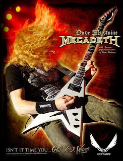 Dave Mustaine Guitar lessons
