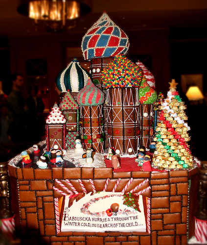 My Colorful Life: AMEZING Gingerbread House