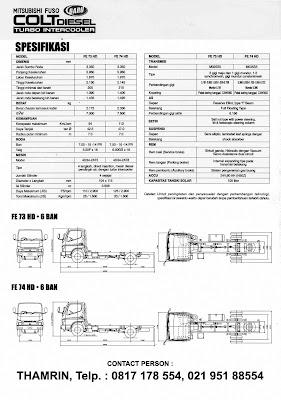 Gambar MESIN Colt diesel 125 ps