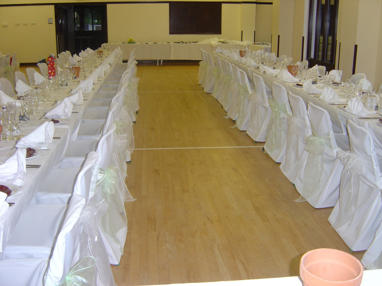 wedding chair covers devon design metal all angles and venue dressing yelverton village hall