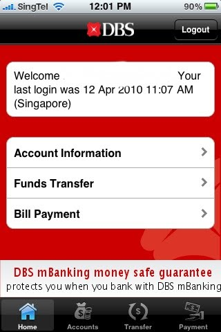 DBS Internet Banking iPhone Application Review   Today24News