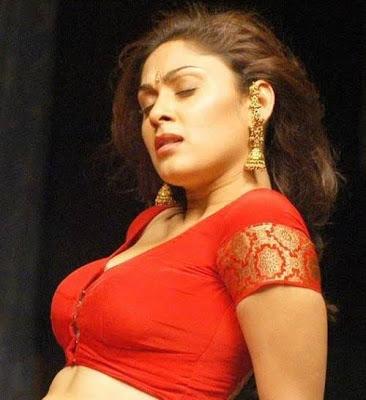 ayesha omar tight saree blouse