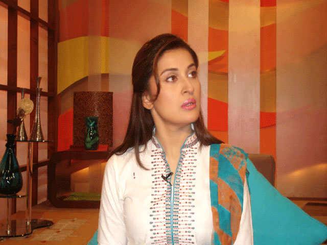 Cute Smile Wallpaper Sexy Girl Bikini New Pakistani Television Presenter Dr