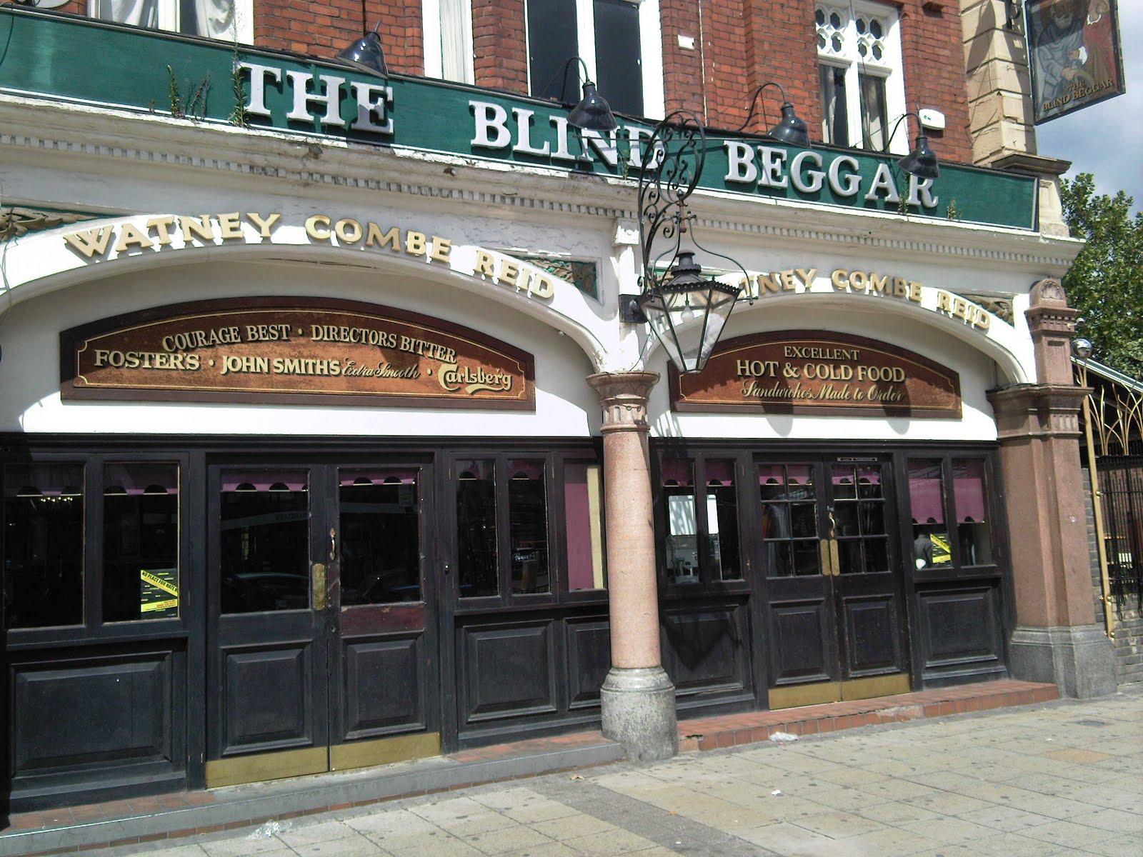Blind beggar pub krays