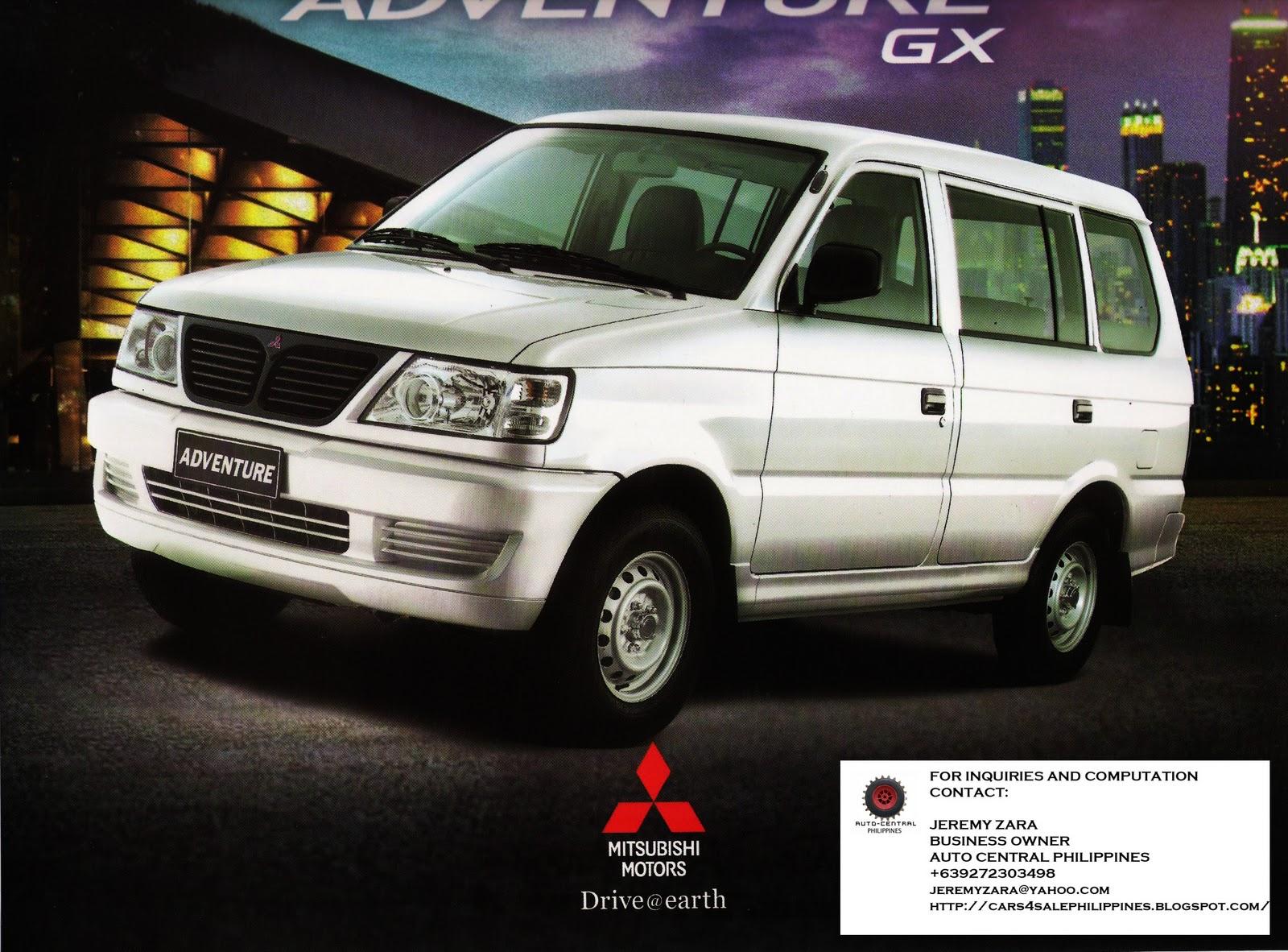 Adventure Car: Brand New Cars For Sale: BRAND NEW MITSUBISHI ADVENTURE