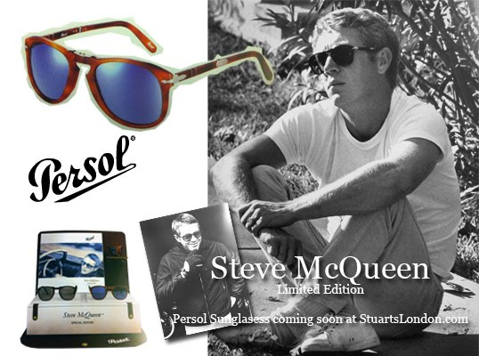 Steve McQueen - Limited edition Persol Sunglasses Coming soon   Mens ... 4f9f79833f6c