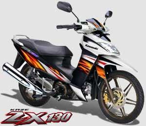 Spesifikasi Kawasaki ZX 130 R 2010