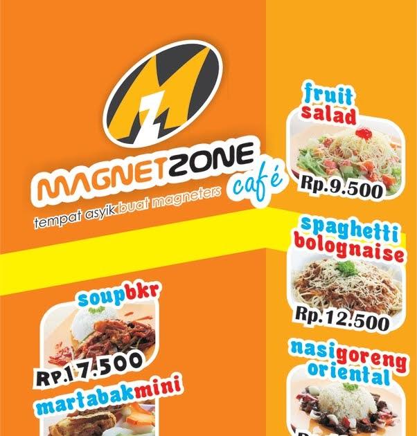 kreativa desain: Banner: Menu Makanan Magnetcafe