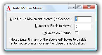 PC & Music TechnoGeek: Prevent PC Timeouts with Mouse Mover