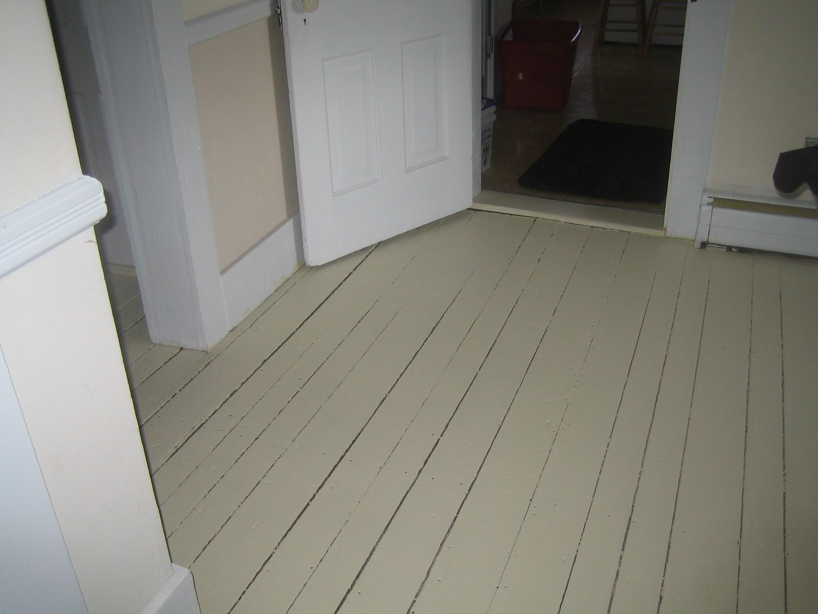Paint Floor home Improvement | Shore Side Farm House