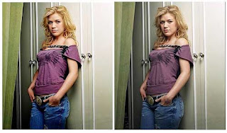 Kelly Clarkson photoshop