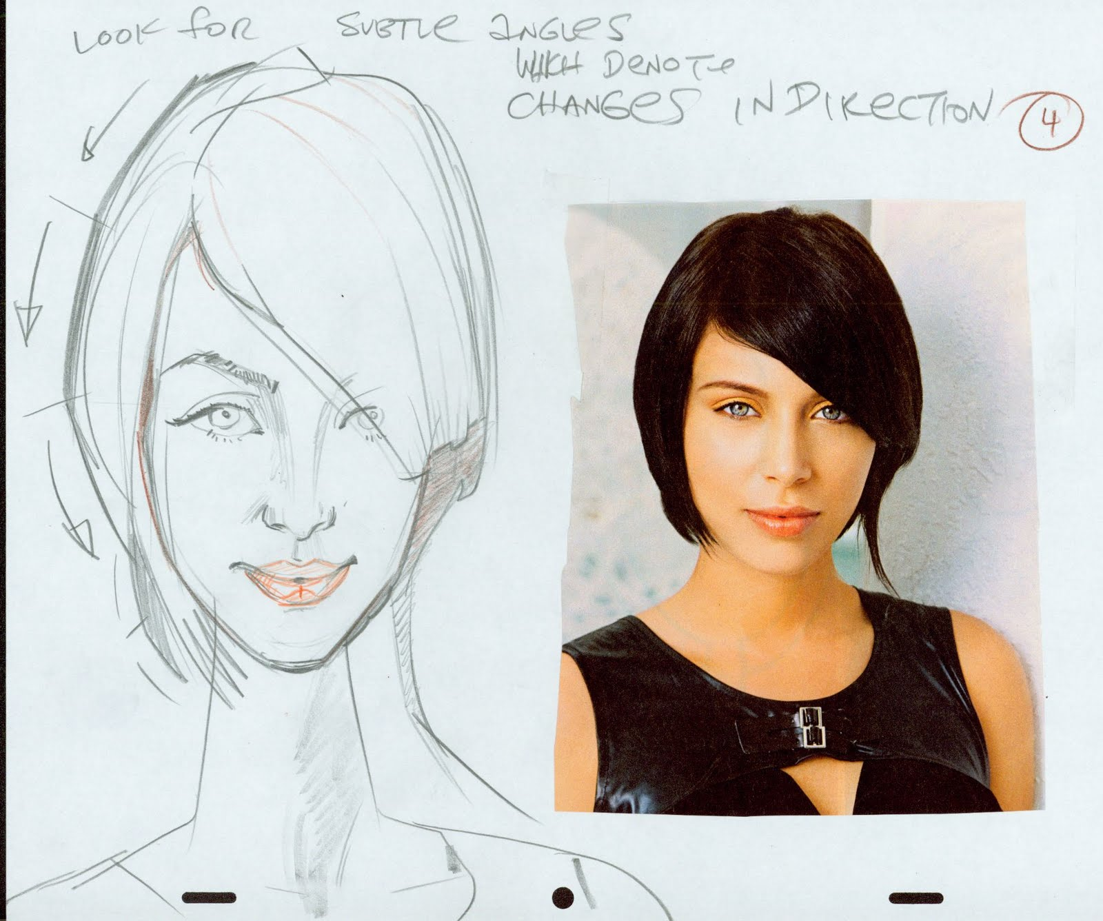 John K Stuff hair do sketches | beauty within clinic