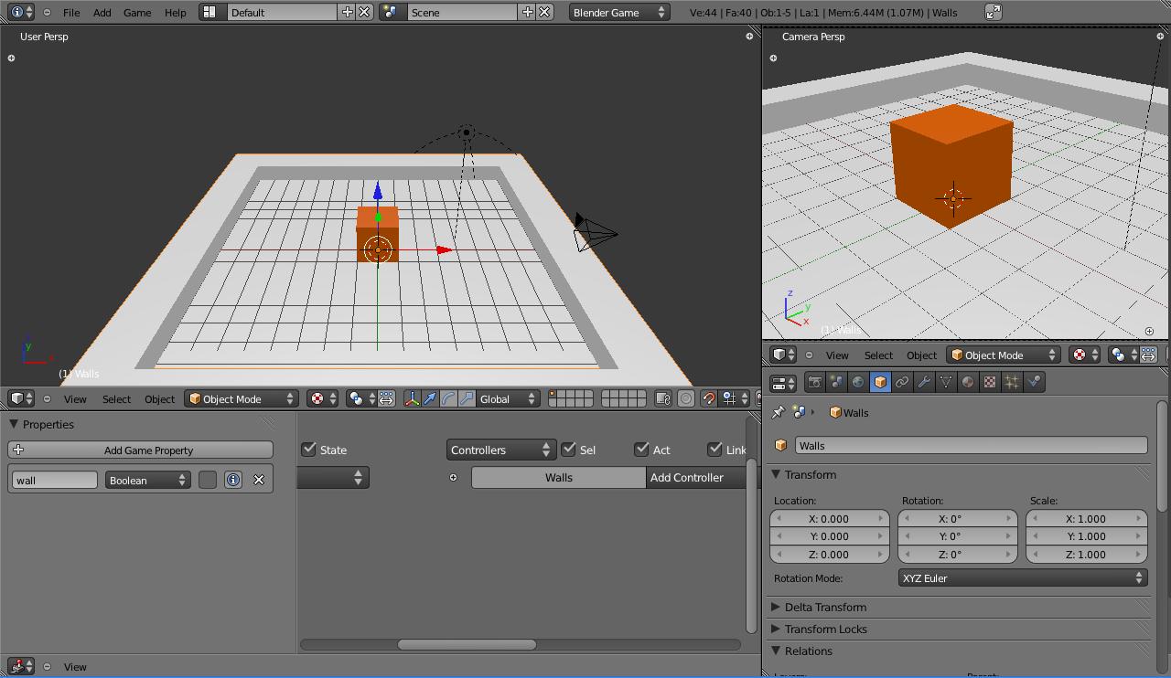 Game Up! Game Development Blog: Using Python in the Blender