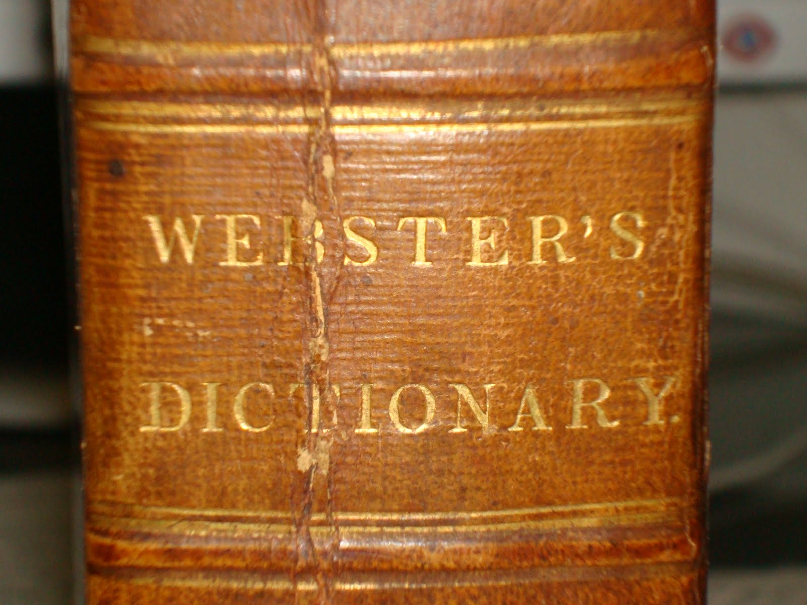 Philologophile: My 1838 Webster