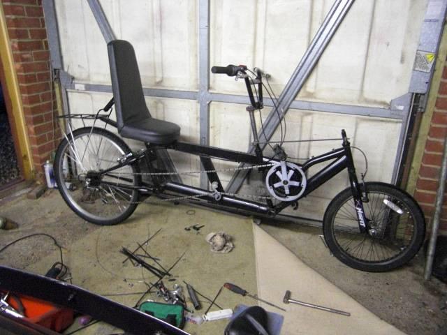 ray's recumbent bike