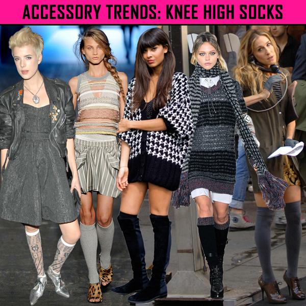 My Crystal Closet Accessory Trend Knee High Socks