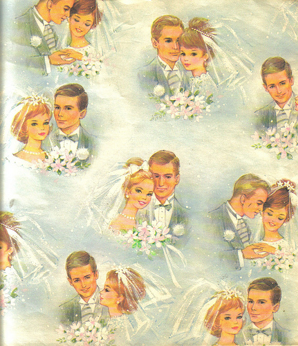 Wedding Gift Wrapping Ideas Images: Buttercup Bungalow: Vintage Wedding Gift Wrap