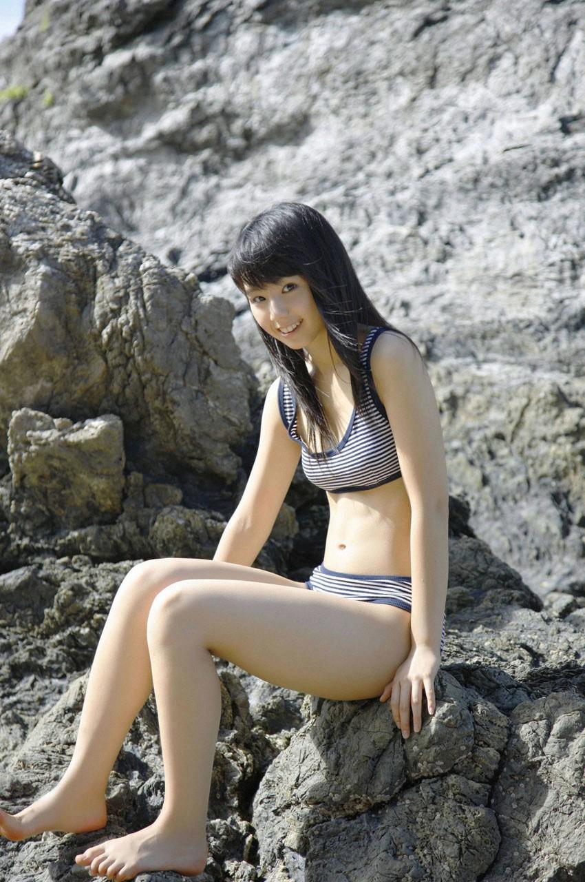 Rina Koike on the beach | japanese girls 2011